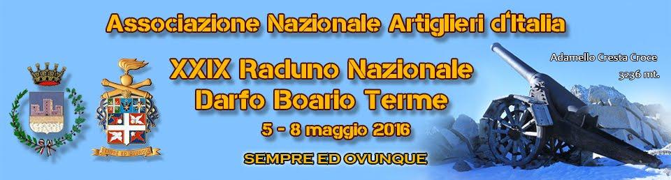 A.N.Art.I - Boario Terme - IL XXIX RADUNO NAZIONALE ARTIGLIERI