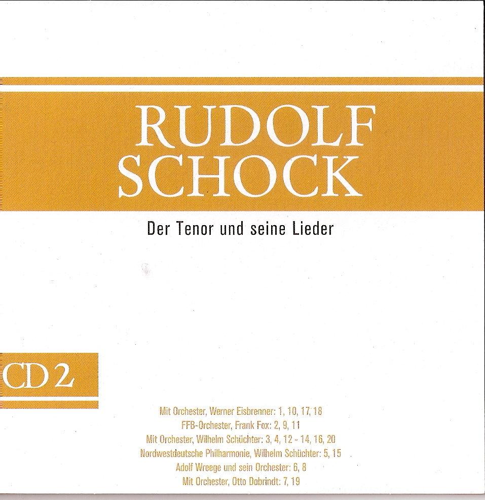 Rudolf Schock - Ein Dankeschön All Meinen Freunden
