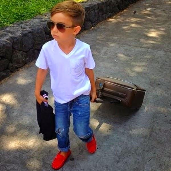 Gambar bocah laki-laki paling keren dan termodis