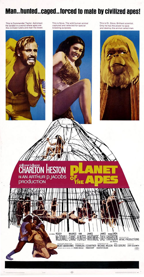 space1970 planet of the apes 1968 theatrical posters