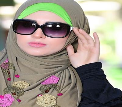 صور طرح للمحجبات 2015 , احلى لفات طرح للمحجبات