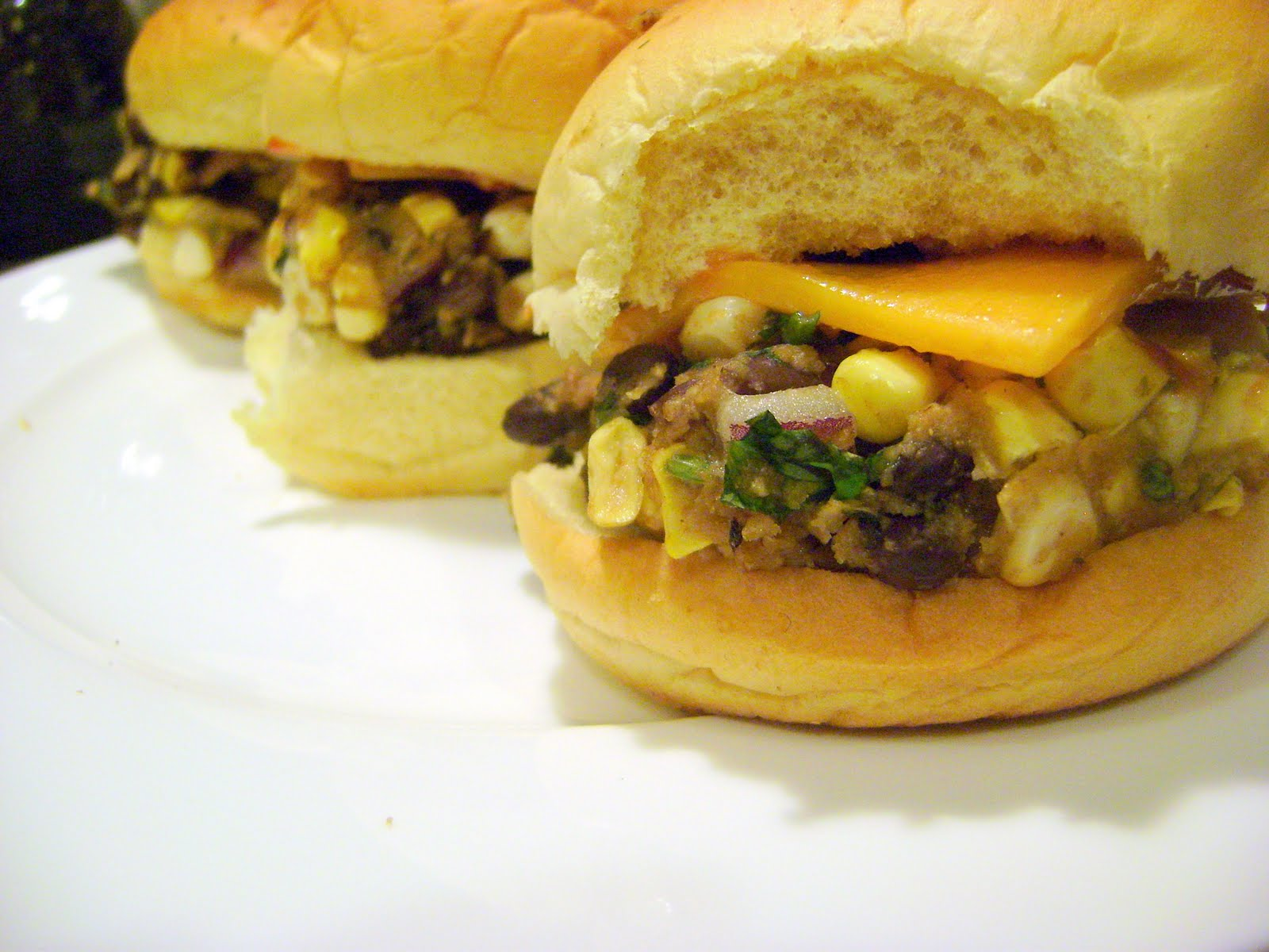 Black Bean-Corn Burger Recipes — Dishmaps