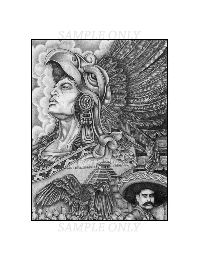 My Tattoo Designs: Aztec Tattoos Aztec Pencil Drawings