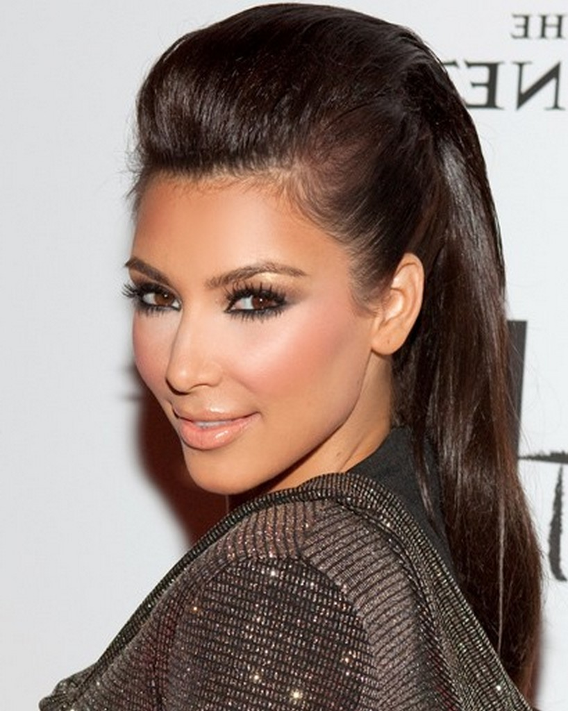 Kim Kardashian Hairstyles - Celebrities