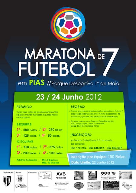 Maratona de Futebol 7 em Pias