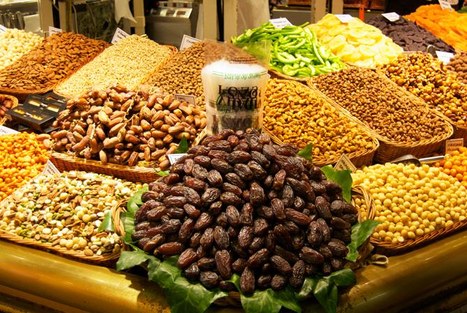 Barcelona La Boqueria Food market