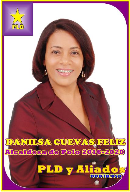 ALCALDESA PLD MUNICIPIO DE POLO 2016-2020
