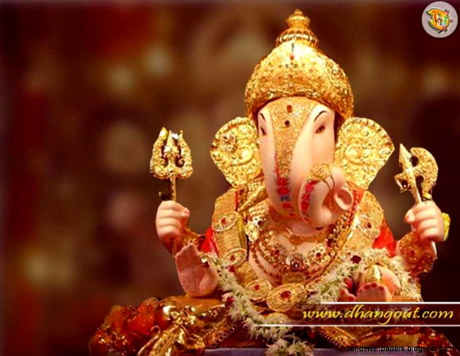 HD Lord Ganesh Background Animated video Free Downloads - YouTube