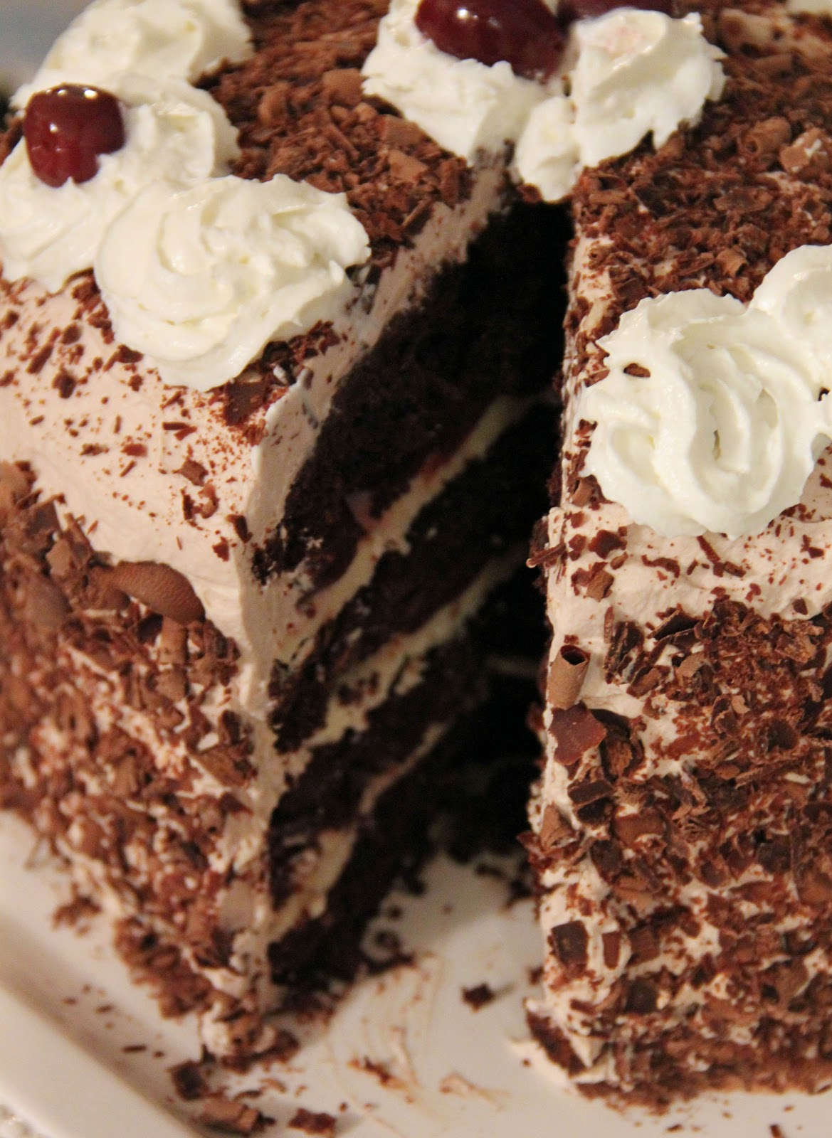 Black Forest Cake Recipe   Dishmaps