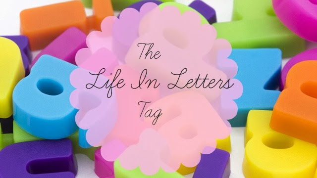 Life in Letters Tag