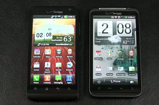 HTC Thunderbolt vs. LG Revolution