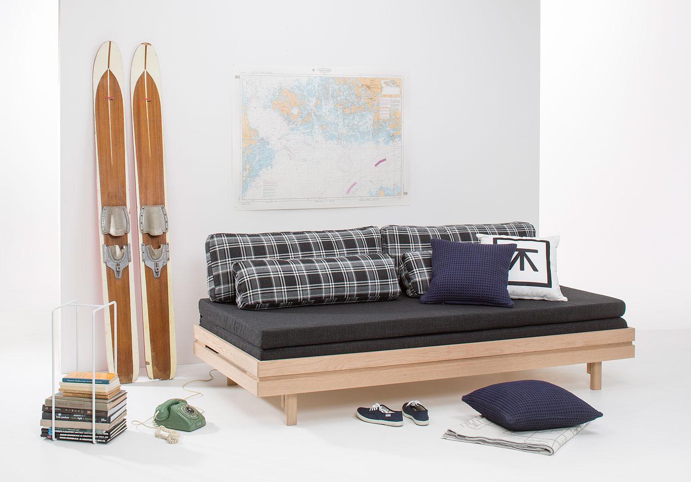 Marzua juvenil sof cama del dise ador finland s tapio - Sofa cama juvenil ...