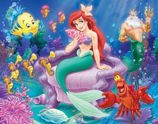 ... . Little mermaid adalah putri tercantik dan bersuara paling indah