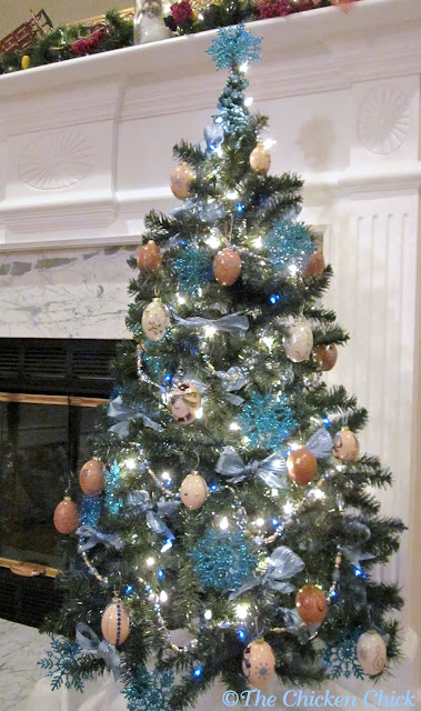 Christmas Egg Tree
