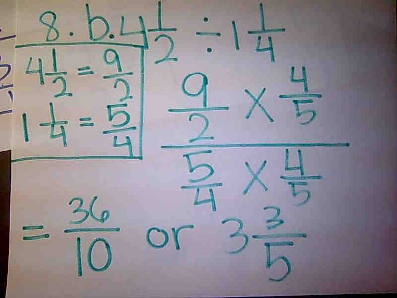 how to draw a diagram for dividing fractions