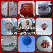 Balon Promosi udara