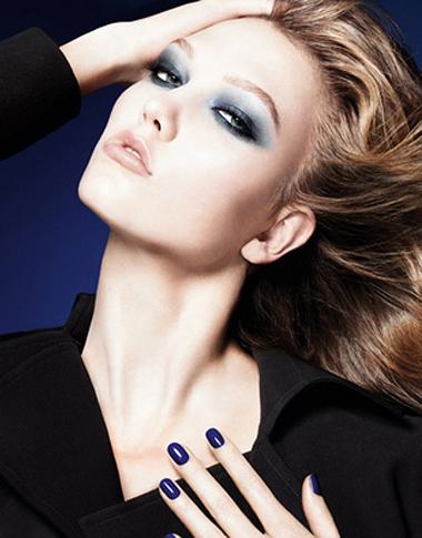 maquillaje otoño invierno 2011 Dior Blue Tie