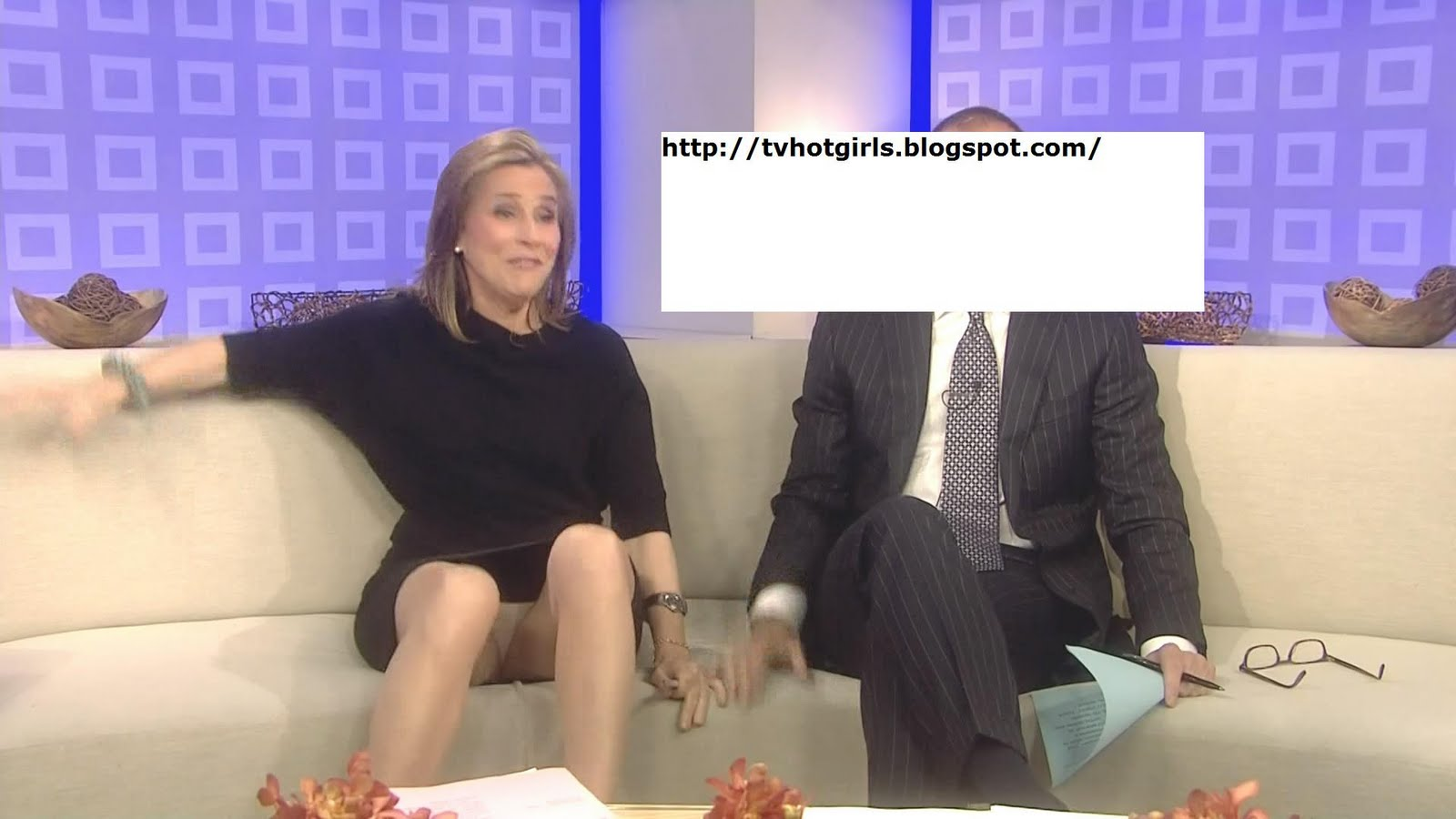Meredith Viera Pantyhose Upskirt On Tv S The Today Show