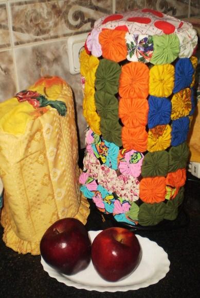 Mu ecos y manualidades soft y otros forro de batidora y for Artefactos de cocina