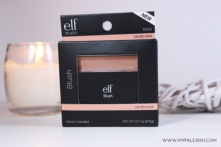 elf cosmetics candid coral blusher swatch nars orgasm dupe