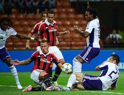 Milan-Anderlecht 0-0 highlights