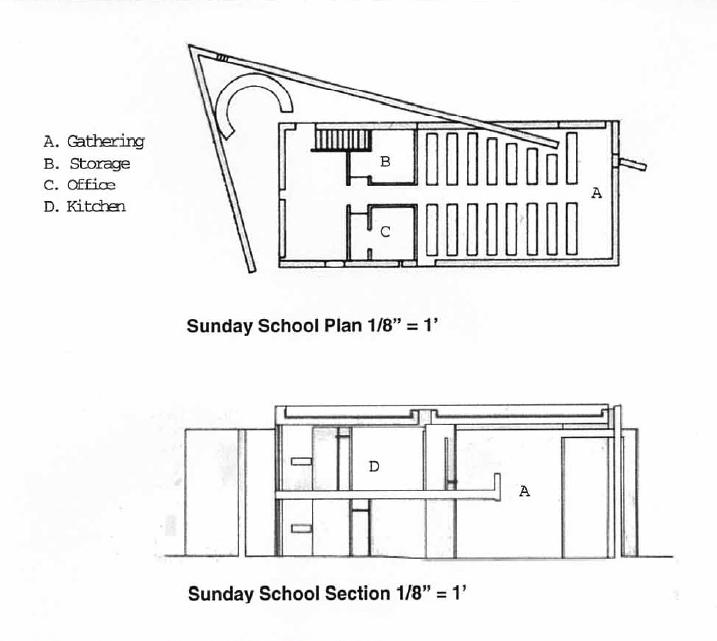 church of light floor plan