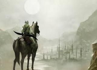 Ilustrasi pahlawan jihad