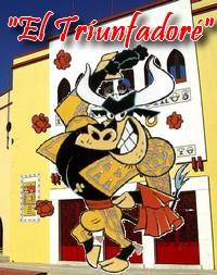 """Mascote da """"Festa Brava no Ribatejo"""""""