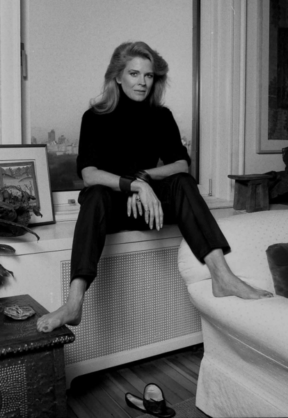 Candice bergen single mother
