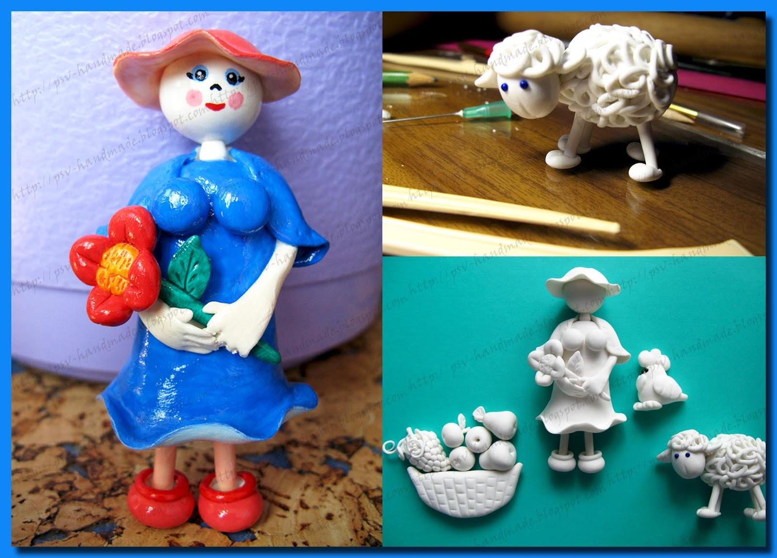 Изделия из полимерной глины своими руками