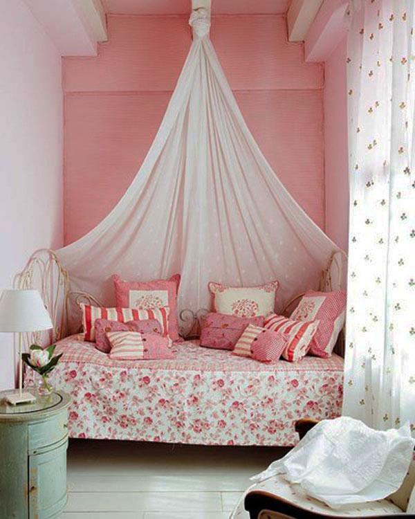 Dep sito santa mariah quarto pequeno truques para decorar - Doseles de cama ...