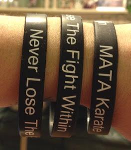 MATA Karate Bracelets