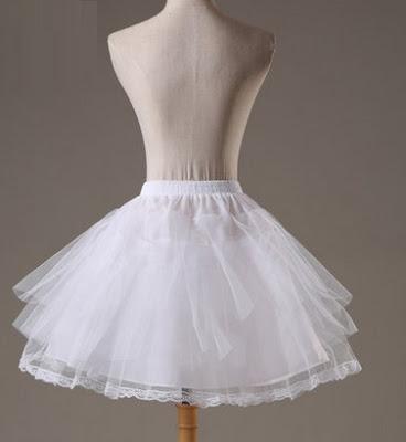Layered Tulle Petticoats