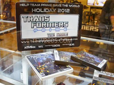 Transformers Prime Videogame BOTCON 2012