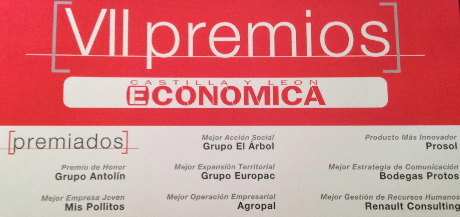 PREMIO CASTILLA Y LEON ECONOMICA