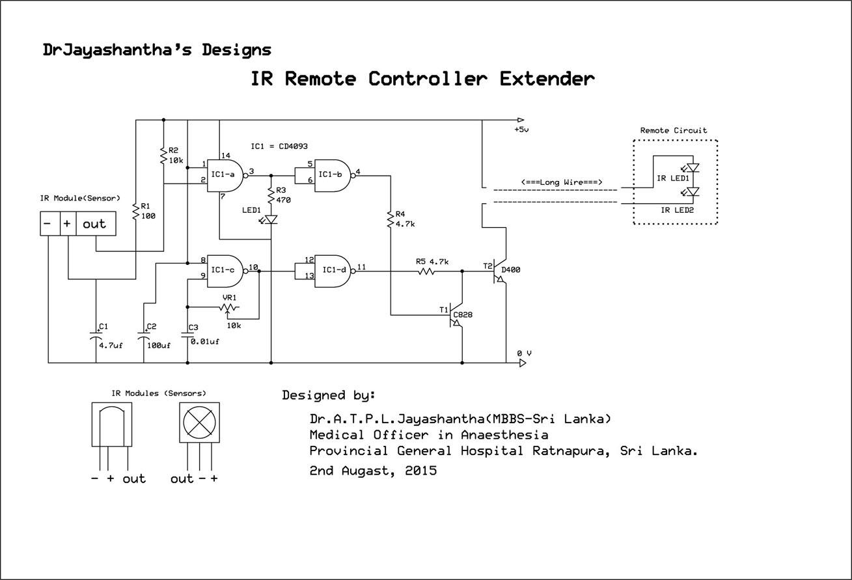 Electronic Box 2158 Ir Remote Control Circuit Diagram