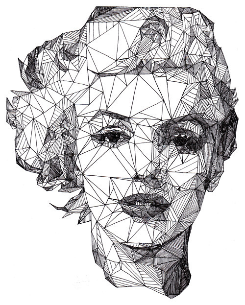 Art black and white marylin monroe picture favim com 334461 jpg