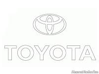 Kids Coloring Toyota Logo
