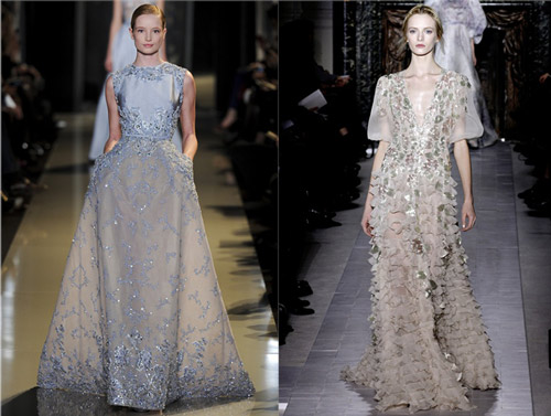 Elie Saab and Valentino