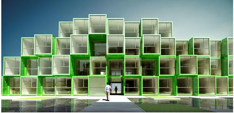 Apuntes revista digital de arquitectura es posible vivir en un contenedor sergio vendrell - Vivir en un contenedor ...