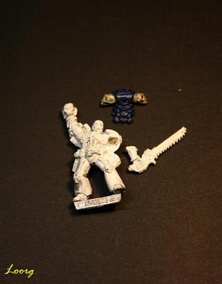 Sargento veterano Centurius de la Legión de los Condenados