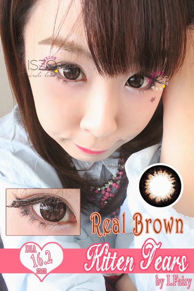 I.Fairy Kitten Tears real brown review