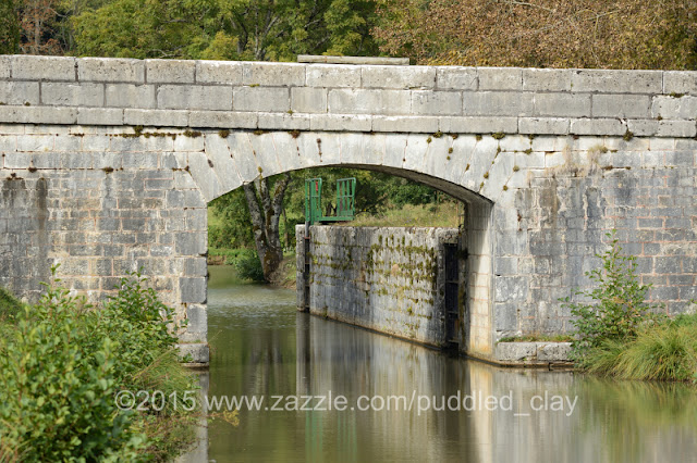 The stop lock, Chatillon-en-Bazois, Canal du Nivernais