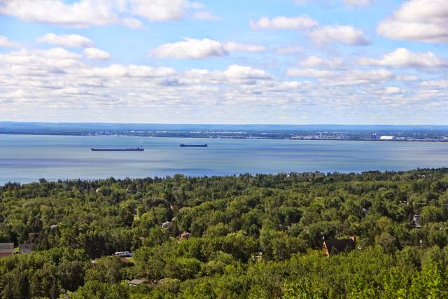 Lake Superior from Hawk Ridge, Duluth
