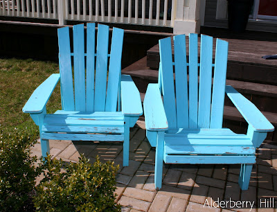 Im Lovin Lime Green Adirondack Chairs