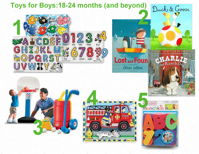 Toys For 18 Months : Toys for boys months to years