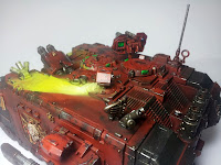 LAND RAIDER BLOOD ANGELS - WARHAMMER 40000 9
