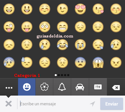 Emoticones categoria 1