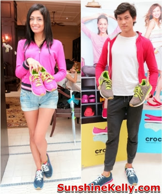 Crocs Fall / Holiday 2013 Collection, crocs shoes, crocs, comfortable stylish shoes, shoes fashion show, Crocs Retro Sneaker for Him and Her