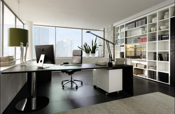 Impressive Modern Home Office Design 582 x 379 · 52 kB · jpeg